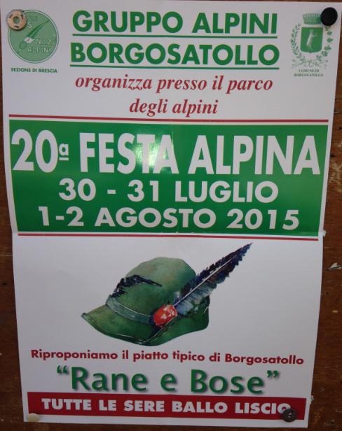 20 Festa Alpina a Borgosatollo