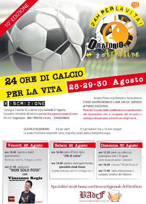24h di Calcio a Agnosine