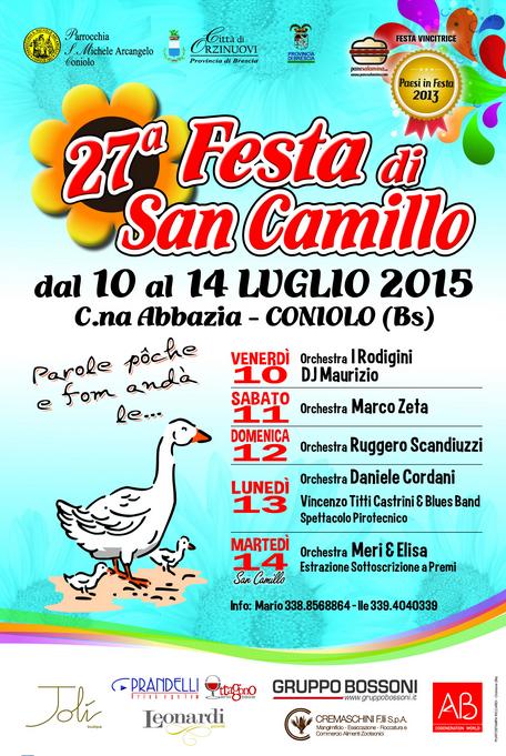 27 Festa di San Camillo a Coniolo