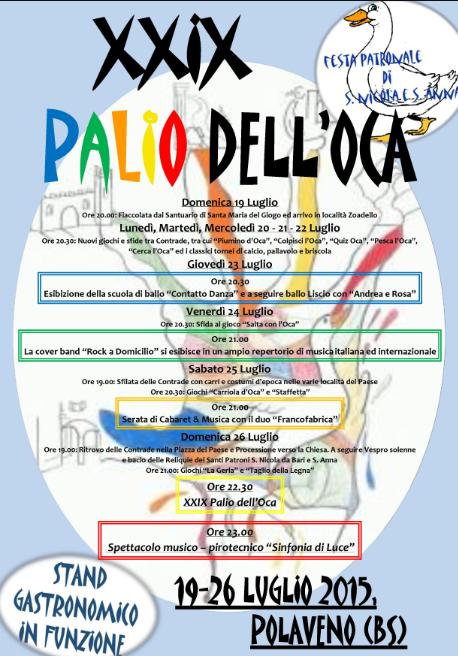 29 Palio dell'Oca a Polaveno