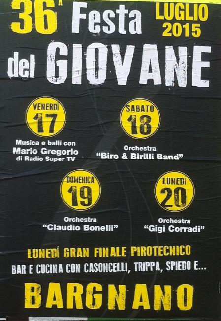 36 Festa del Giovane a Bargnano