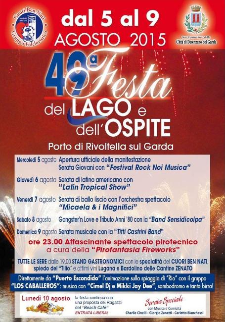 49 Festa del Lago e dell'Ospite a Rivoltella