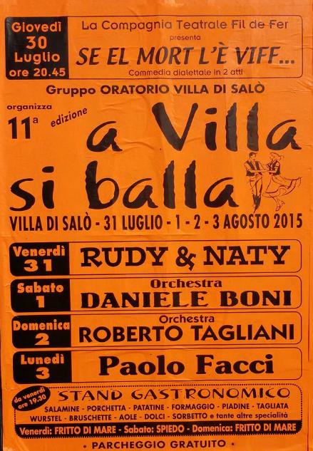 A Villa si Balla a Salò