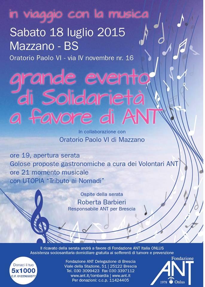 In viaggio con la musica a Mazzano
