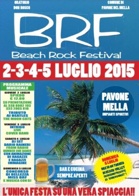 Beach Rock Festival a Pavone Mella