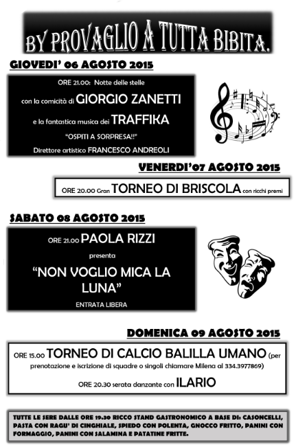 By Provaglio a Tutta Bibita