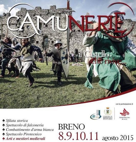 Camunerie 2015 a Breno