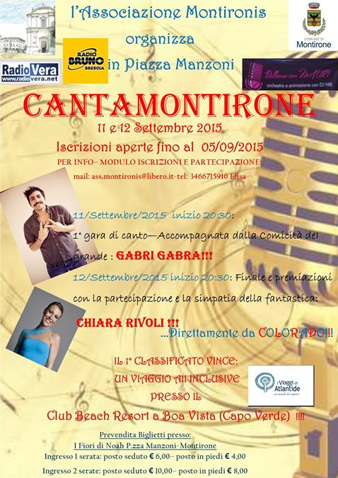 CantaMontirone
