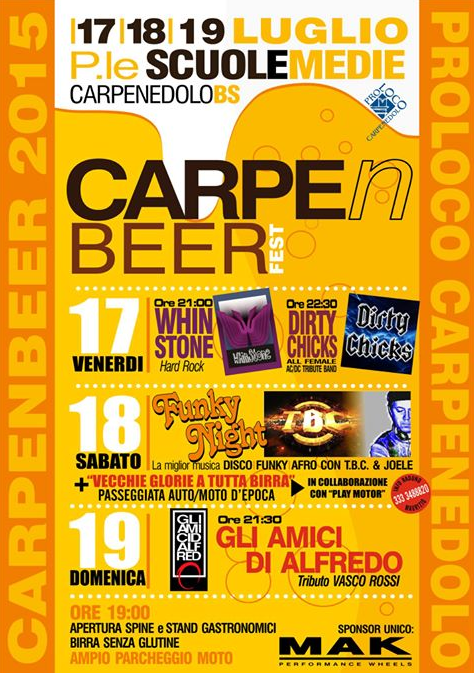CarpenBeer Fest a Carpenedolo