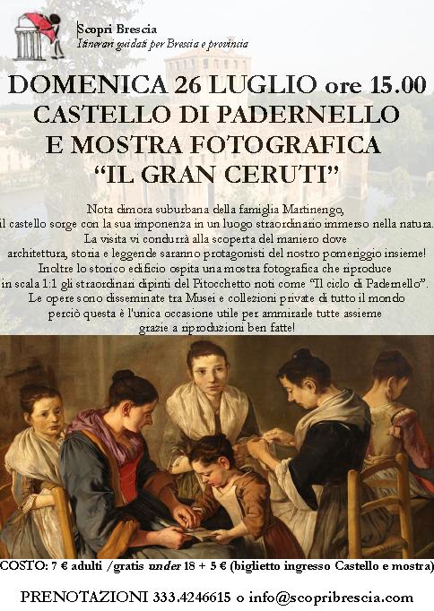 Castello di Padernello e Mostra Fotografica Il Gran Ceruti