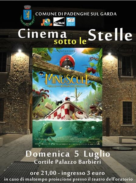 Cinema sotto le stelle a Padenghe