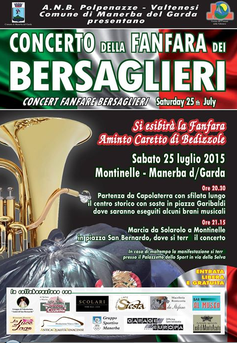 Concerto della Fanfara dei Bersaglieri a Manerba