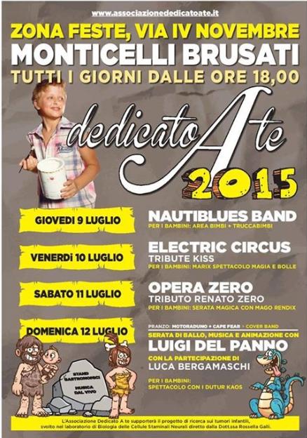 Dedicato a te 2015 a Monticelli Brusati