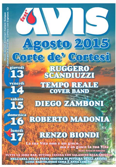 Fest AVIS a Corte de Cortesi con Cignone CR