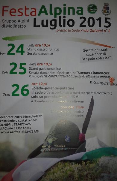 Festa Alpina 2015 a Molinetto a Mazzano