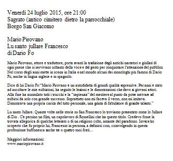 Festa Patronale 2015 a Borgo SG
