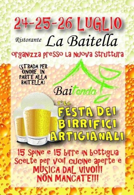 Festa dei Birrifici Artigiananli a Songavazzo (Bg)