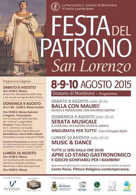Festa del Patrono a Montirone