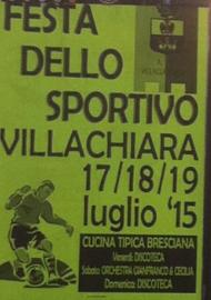 Festa dello Sportivo a Villachiara