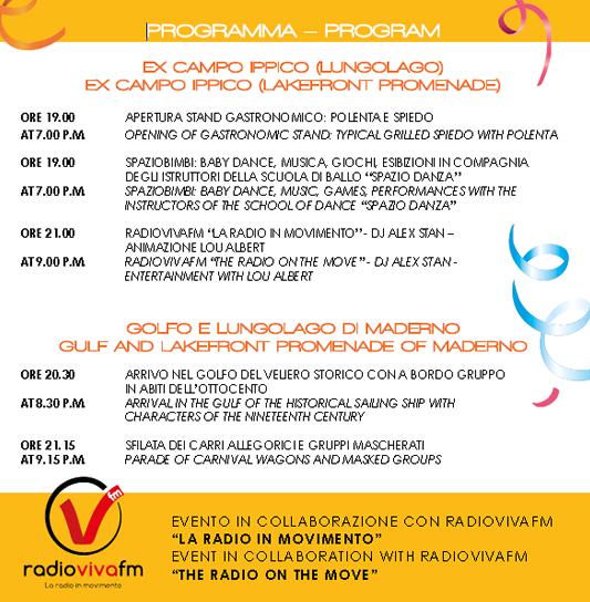 Il Carnevale del Golfo 2015 Toscolano Maderno