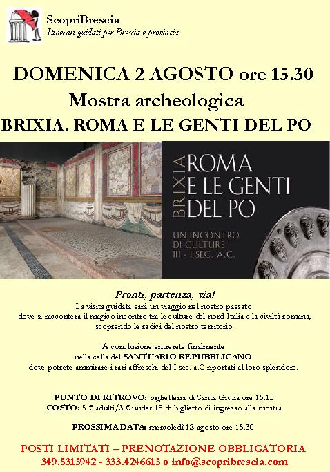 Mostra Archeologica Brixia. Roma e le Genti del Po