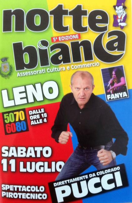 Notte Bianca 2015 a Leno
