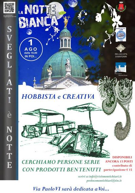 Notte Bianca 2015 a Montichiari