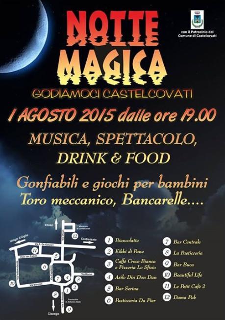Notte Magica a Castelcovati