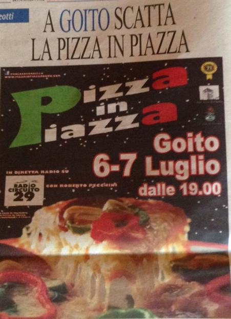 Pizza in Piazza a Goito MN