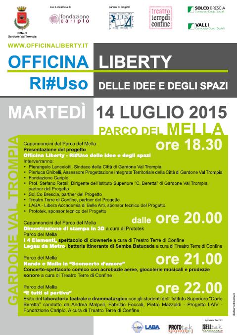 Presentazione Progetto Officina Liberty a Gardone VT