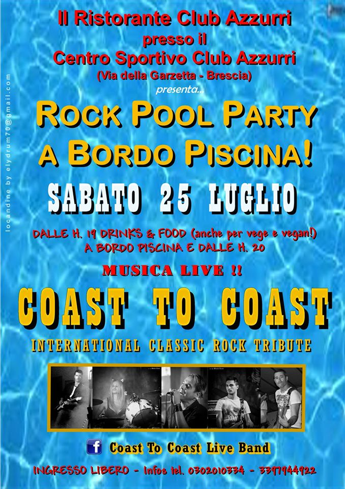Rock Pool Party a Brescia
