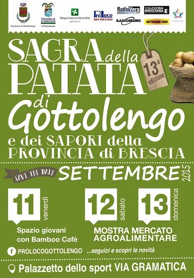 Sagra della Patata di Gottolengo 2015