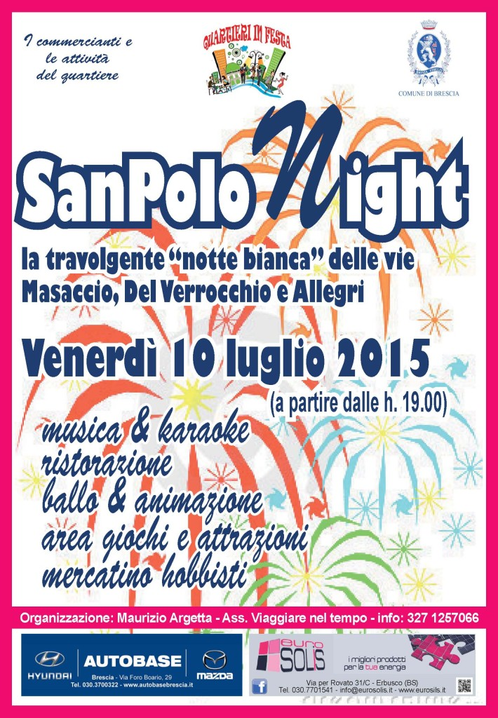 San Polo Night a Brescia