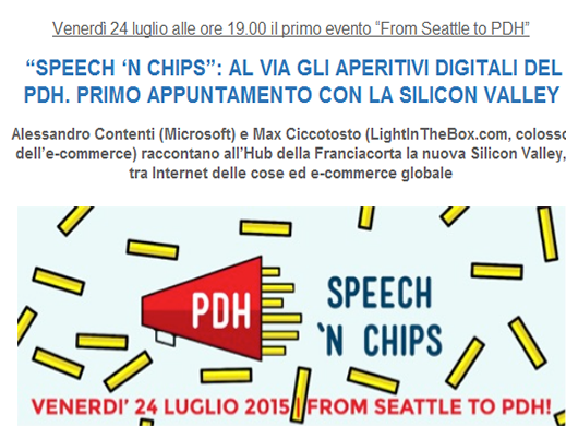 Speech 'n Chips a Palazzolo