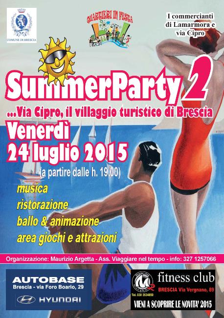 Summer Party 2 a Brescia