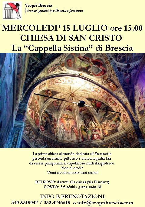 Visita Guidata alla Chiesa di San Cristo