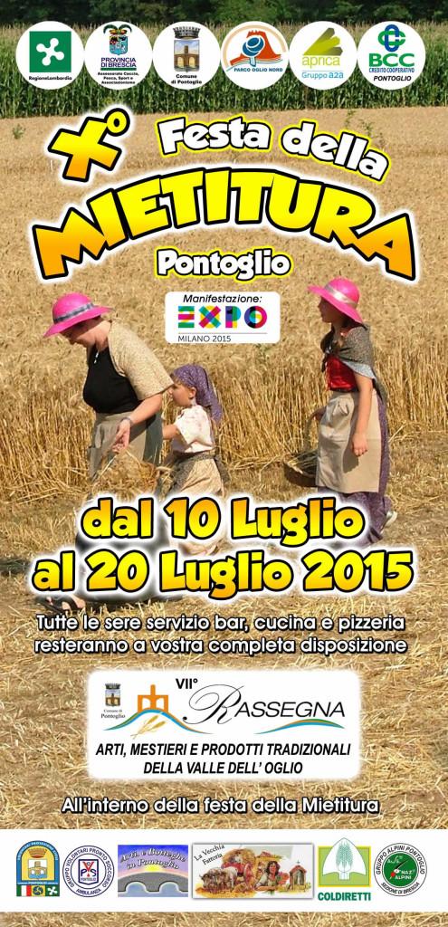 X festa della mietitura a Pontoglio