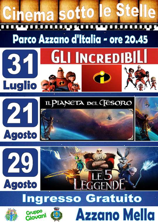 cinema Azzano Mella