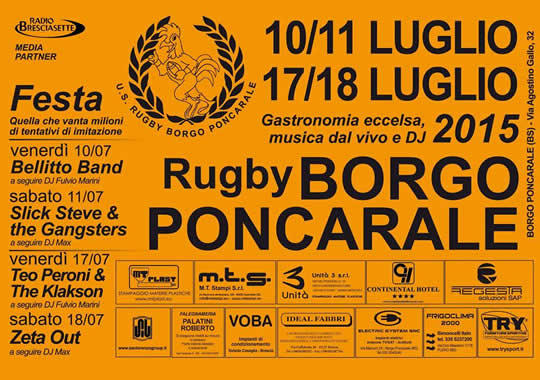 festa del rugby a Poncarale 2015