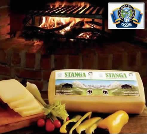 CISSVA Stanga, formaggio fuso pronto per eventi feste e sagre