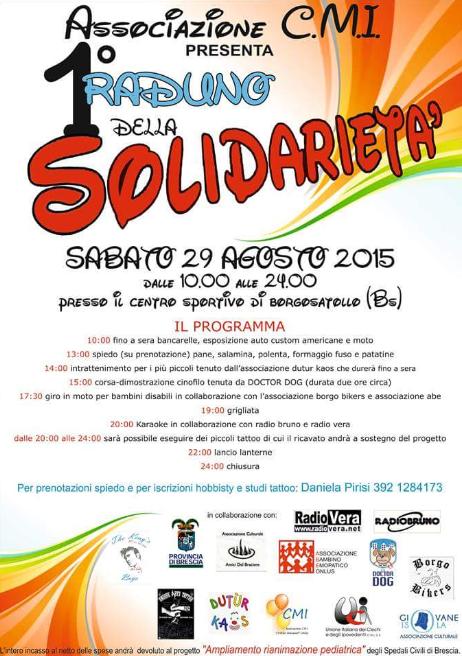 1 Raduno dellaSolidarietà a Borgosatollo