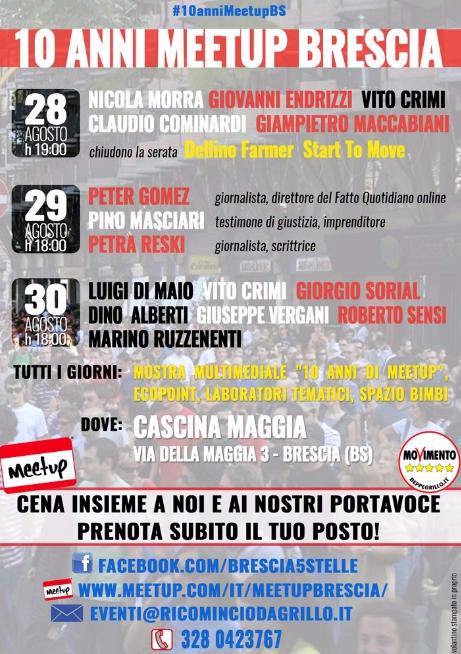 10 Anni Meetup Brescia
