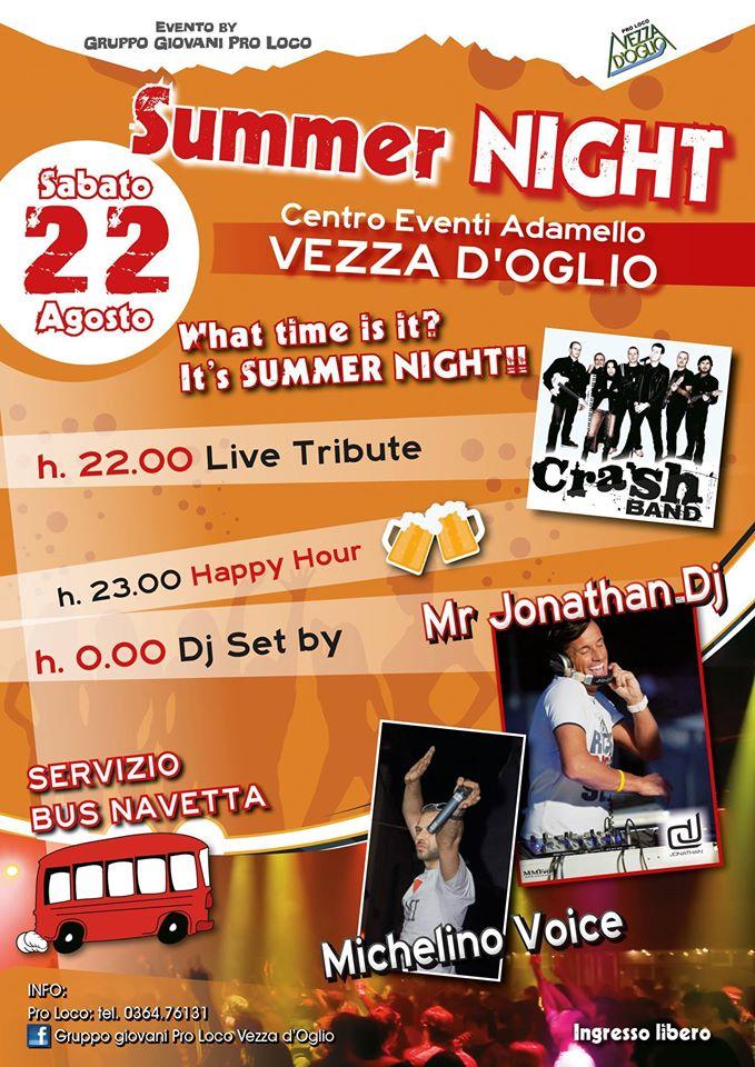 Summer Night a Vezza d'Oglio