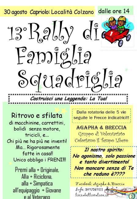 13 Rally di Famiglia Squadriglia a Capriolo