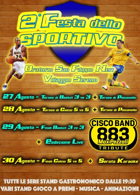 2 Festa dello Sportivo al Villaggio Sereno