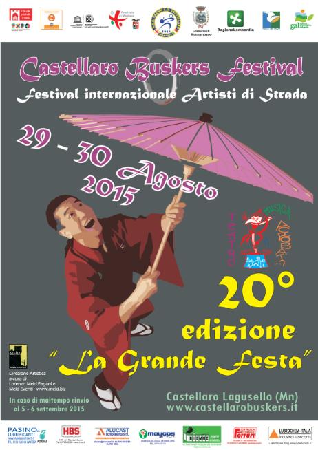 20 Castellaro Buskers Festival a Castellaro Lagusello MN