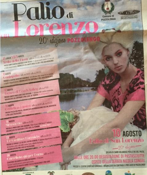 20 Palio di San Lorenzo a Pozzolengo
