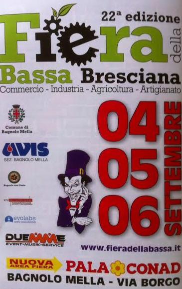 22 Fiera della Bassa Bresciana a Bagnolo Mella