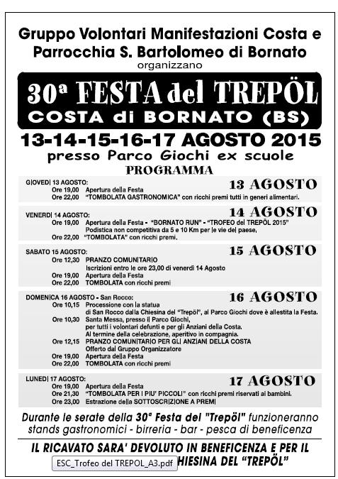 30 Festa del Trepol a Bornato