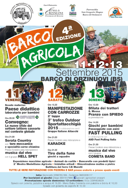 4 Barco Agricola a Orzinuovi